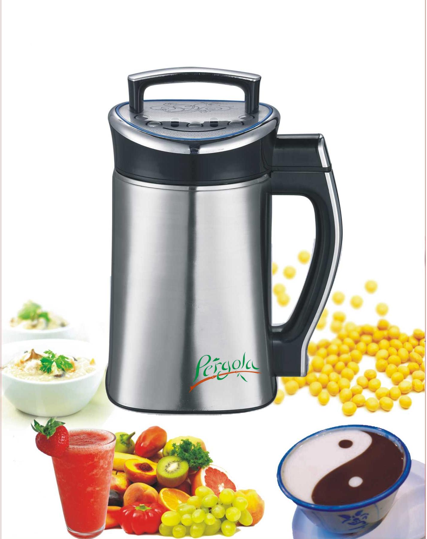 Robot de cocina para la elaboraci n de leches vegetales y for Jarra leche